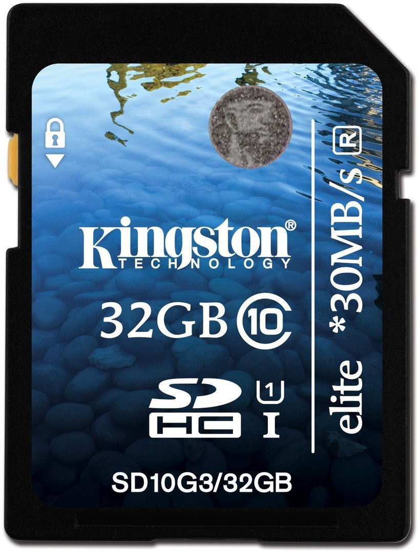 Kingston Thecnology-SD10G3/32GB-
