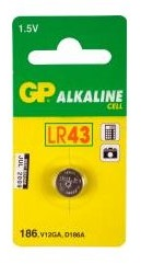 GP Batteries-186-LR43 VG12A